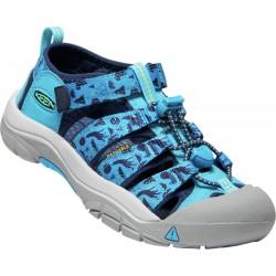 Keen Newport H2 K vivid blue katydid dětské outdoorové sandály i do vody