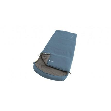 Outwell Campion Lux blue třísezónní dekový spací pytel Isofill