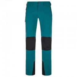 Kilpi Tide-M tyrkysová pánské turistické outdoorové kalhoty