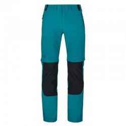 Kilpi Hosio-M tyrkysová pánské odepínací turistické kalhoty