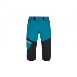 Kilpi Otara-M tyrkysová pánské turistické 3/4 outdoorové kalhoty