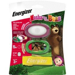 Energizer Masha and Bear 14 lm dětská čelovka na baterie