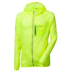 Progress Aero Lite neon žlutá pánská lehká bunda/větrovka