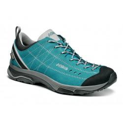 Asolo Nucleon GV ML GTX north sea/silver dámské nízké nepromokavé kožené boty