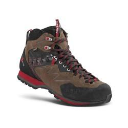 Kayland Vitrik Mid GTX brown pánské nepromokavé kombinované trekové boty