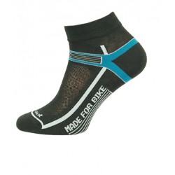 Novia Cyklo Made For Bike modré sportovní ponožky - dárek k nákupu nad 3000 Kč/111 Eur