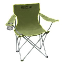 Rockland Montana khaki skládací kempingové křeslo / židle s područkami 1