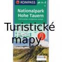 Turistické mapy Rakousko